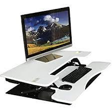 Desk Risers For Standing Desk Amazon Com Fancierstudio Riser Desk Standing Desk Extra Wide 38