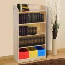 5 shelf desk organizer 5 shelf wood bookshelf bookcase book rack w 3 bins storage