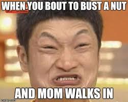 Bust A Nut Meme - impossibru guy original meme imgflip