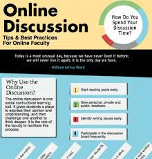 tips class online online discussion tips infographic archives e learning infographics