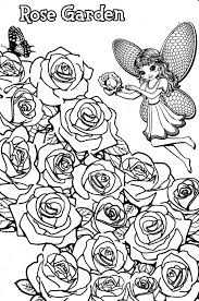 frank coloring pages rose garden fairy free download secret plants