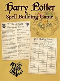 free harry potter spells printable game wand tutorial