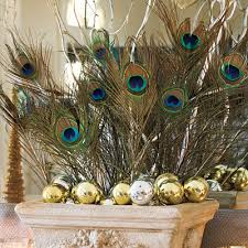 make a statement with peacock feathers use peacock feathers in li