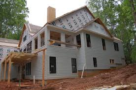 Modern Craftsman House Rafter Tails Go Up Pool Goes In Modern Craftsman Style Home