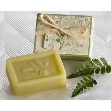 soap wedding favors della terra olive