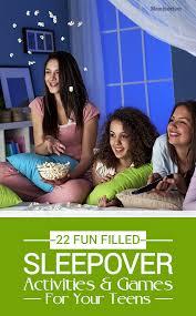 22 fun sleepover games and activities for teens u0026 tweens fun