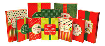 pre wrapped christmas boxes iconikal pre printed gift boxes 12 pack