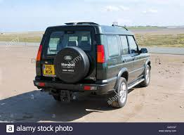 land rover rear rear view of a land rover discovery 4x4 car stock photo royalty
