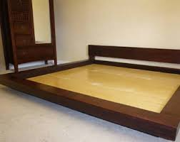 How To Build A Solid Wood Platform Bed by Platform Bed Etsy