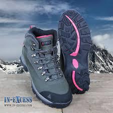 womens walking boots ebay uk vango pumori womens walking hiking boots waterproof charcoal pink