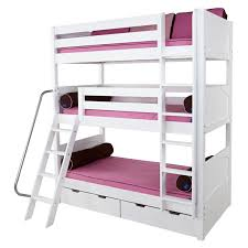 Storage Bunk Beds Uk The Stompa Storage Bunk Bed Frame Provides - Triple bunk beds with mattress