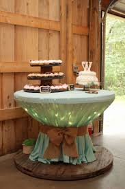 round table cloth covers burlap table covers round new wooden spool with icicle lights
