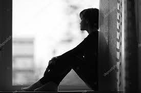 images of sad girl sad girl on the windowsill stock photo xload 41329389