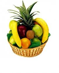 fresh fruit online send a simple fresh fruit basket online in uae at affordable price