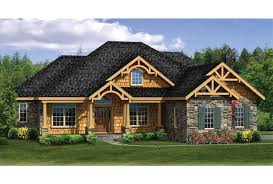 ranch house plans with walkout basement eplans craftsman house plan craftsman ranch with finished