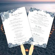 order wedding programs online wedding invitation service retro wedding program order of service