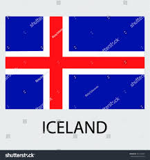 Flag Iceland Flag Country Iceland Iceland Stock Vector 321318545 Shutterstock