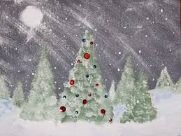 christmas tree art projects christmas lights decoration