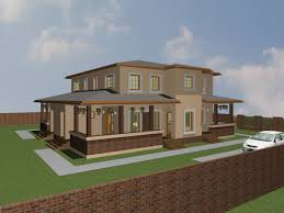 Mediterranean Style Home Plans Mediterranean Duplex House Plans And Design 2 Bedroom Duplex