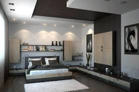 plafond chambre a coucher deco plafond chambre plafonds faux plafond blanc aspect bois spots