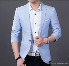 casual blazer 2018 s fashion casual blazer suit jacket groom wedding suits