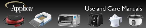 B D 4 Slice Toaster Oven Applica Use And Care Manuals