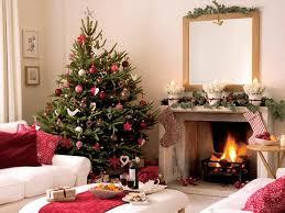 christmas tree interior decorating ideas left fireplace living