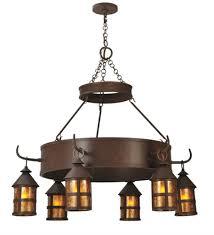 Rustic Ceiling Light Fixtures Meyda Lighting 47