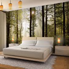 Schlafzimmer Fototapete Tapete Baumstamm Luxus Vlies Fototapete Wald 352x250 Cm A Runa