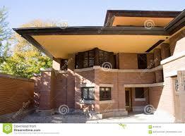 robie house oak park chicago stock image image 6104779