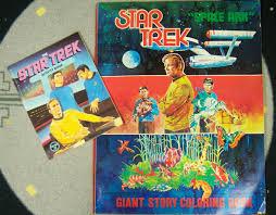 star trek staying inside the star trek coloring book lines
