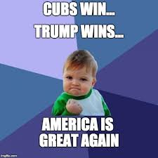 Win Kid Meme - thanks to everyone who made america great again imgflip
