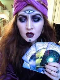 Scary Alice Wonderland Halloween Costume Diy Fortune Teller Halloween Costume
