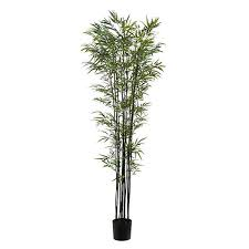 artificial slim bamboo tree 182cm 6ft real looking artificial