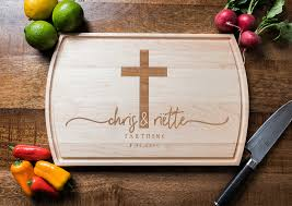 personalized cutting board wedding personalized cutting board wedding gift custom engagement gift