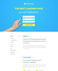30 of the best responsive landing page templates for 2016 web