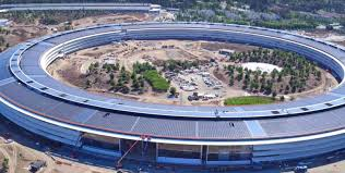 new drone footage shows landscaping u0026 other work continue on apple