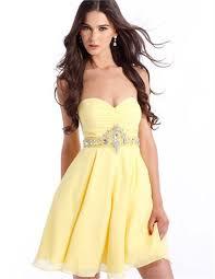 formal dress 1306 in yellow or green print chiffon