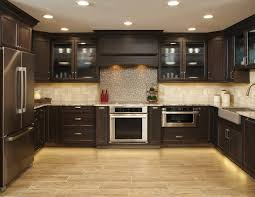 extraordinary 40 dark kitchen cabinets with glass doors