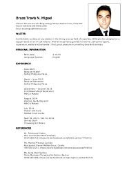 Waiter Sample Resume by Btm Resume Waiter