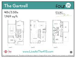 Stacked Townhouse Floor Plans by Four 15 Stacks U2013 24 New Townhomes In Atlanta