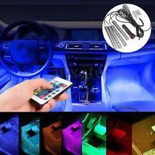 Interior Car Led Under Dash Lights Ebay