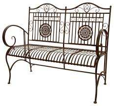 White Metal Outdoor Bench Garden Bench Metal Latest Round Tree Benchplant Stand Wrought