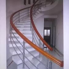 Helical Staircase Design Staircase In Kochi Kerala Manufacturers U0026 Suppliers Of Staircase