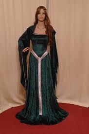 Elven Halloween Costume Celtic Medieval Renaissance St Patricks Elven Fairy Dress