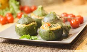 cuisiner courgette courgettes farcies tomate mozzarella