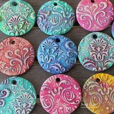 25 unique polymer clay ornaments ideas on