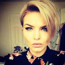 wedge one side longer hair 21 stunning long pixie cuts short haircut ideas for 2018