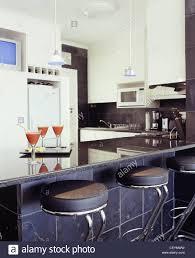 three different kitchen styles kitchen black rough slate tiles on