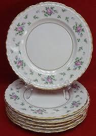 princess china sweet briar princess china sweet briar pattern salad dessert plate set of
